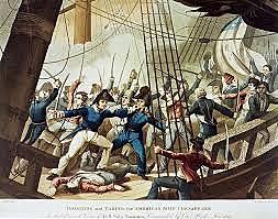 HMS Leopard Attacks the USS Chesapeake