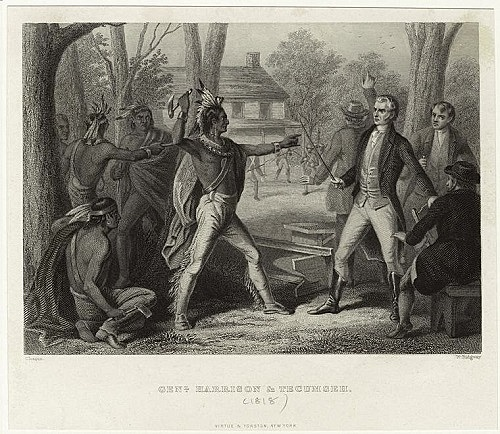 Shawnee Chief Attempts to Negotiate with White Settlers