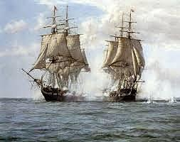 HMS Shannon Attacks the USS Chesapeake