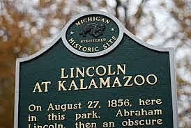 LIncoln's Speech in Kalamazoo