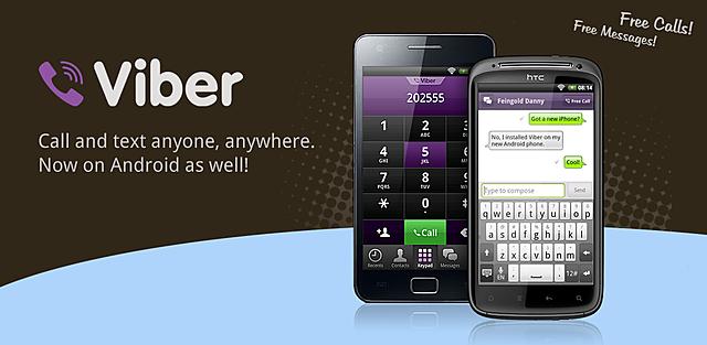 Viber lanza la versión para Android