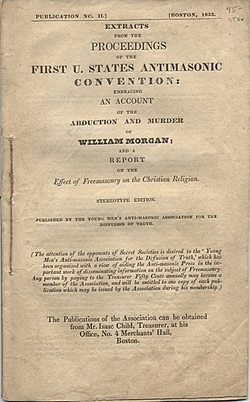 Anti-Mason Party National Convention