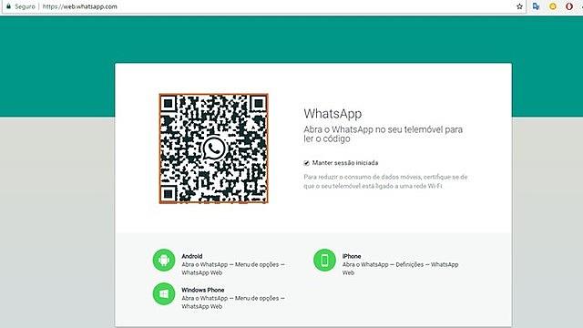 Whatsapp Web para uso en ordenadores