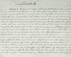 The Second Constitution of New York