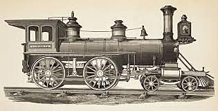 first steam locomotive