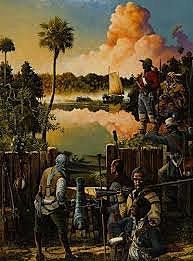 U.S. Regulars Attack a British Fort in Florida
