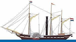 "Dutch steamship ""Curaçao"""