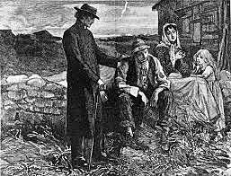 Great Potato Famine in Ireland