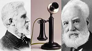 Alexander Graham Bell invents telephone