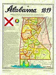 Alabama Becomes a State