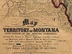 Montana Becomes a State