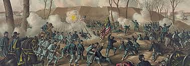 Union General Ulysses S. Grant Captures Forts Henry and Donelson