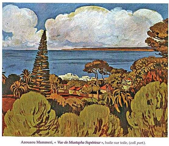 Vue de Mustapha Superieur d'Azaou Mammeri