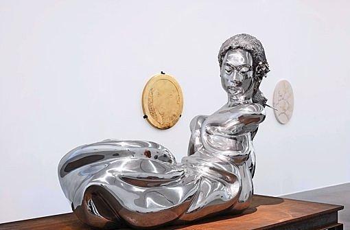 Aluminiumfrau de Thomas Schutte