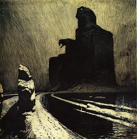 L'Idole noire de František Kupka