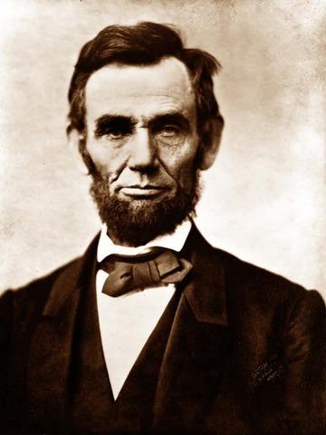 Abrham Lincoln was born on Feb.12.1809