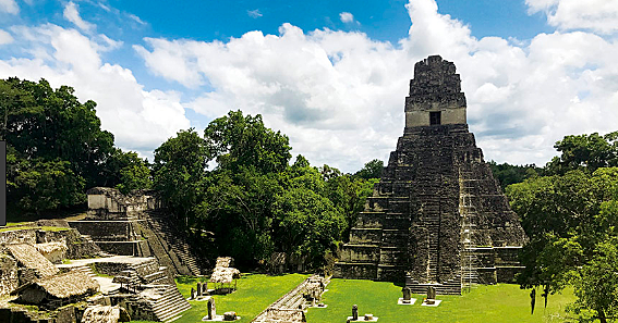 The southern cities of the Mayan culture begin to collapse.