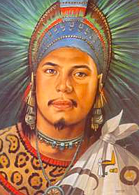 Montezuma I becomes leader of the Aztecs and expands the Aztec Empire.