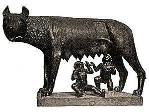 Fundació de Roma per Ròmul