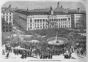 Revolució de Setembre / La Gloriosa / Revolució de 1868