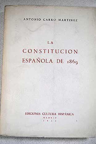 Constitució Espanyola de 1869