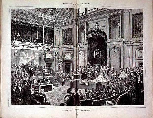 Proclamació d'Alfons XII / Inici de la Restauració