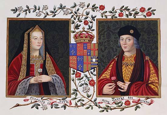 Henry VII married Elizabeth of York