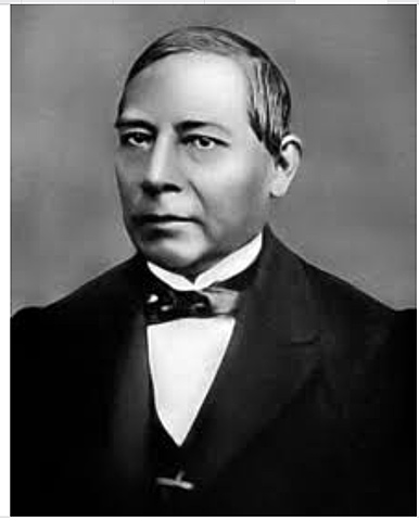 Benito Jaurez becomes president