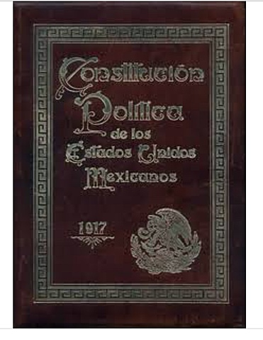 The Mexican Constitution is adopted.