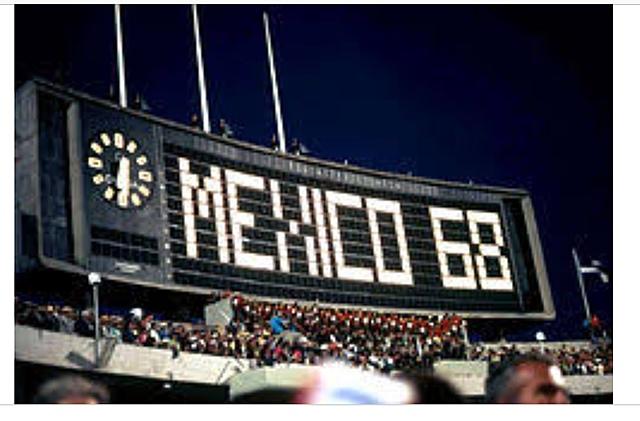 México held the olimpics