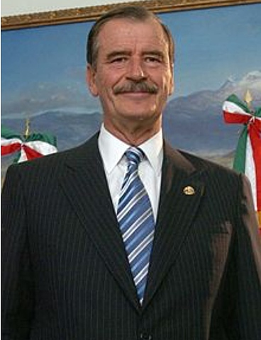Vicente Fox is elected president.