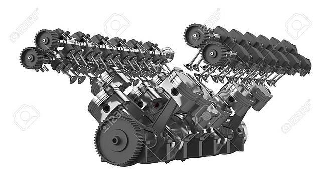 : V12 Engine