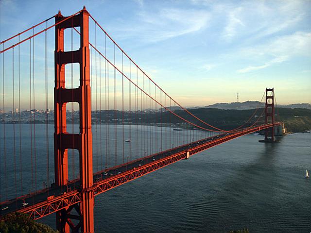 Golden Gate Bridge (The first Bridge on the Pacific Ocean)
