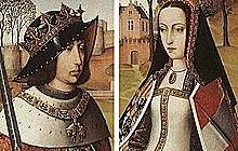 Elisabet Gaztelakoa eta Fernando Aragoikoa ezkondu egin ziren.