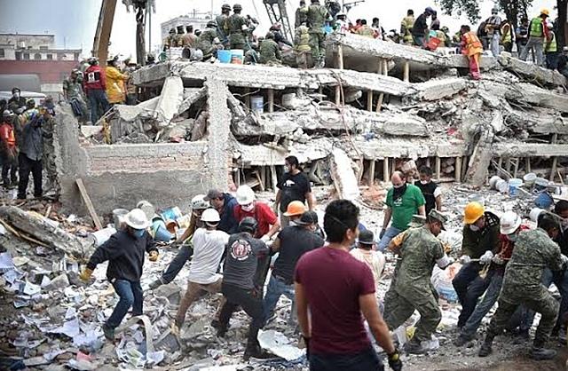 7,1 earthquake hits Mexico