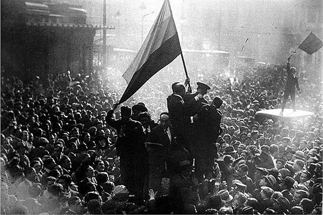 La proclamació de la II República