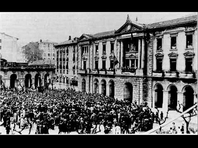 Proclamació República Eibar