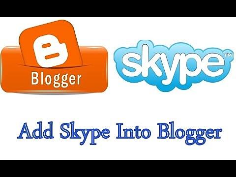 Blooger Y Skype