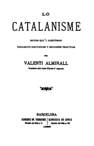 Les plataformes del catalanisme
