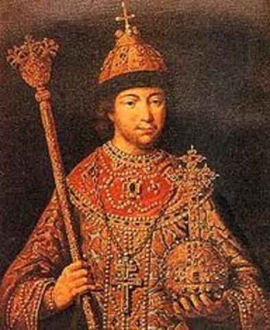 Romanov Dynasty Established