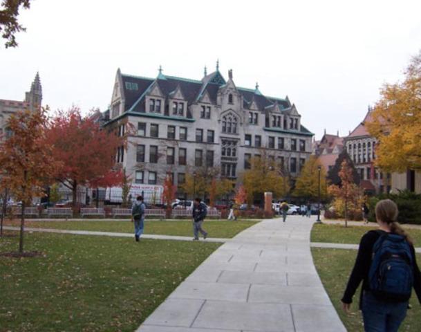 Se creó en la Universidad de Chicago, un departamento especial