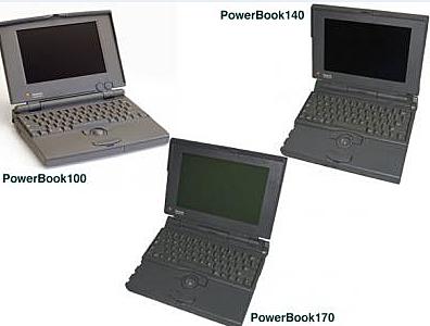 PowerBook 100, 140, 170