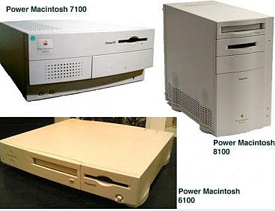 Power Macintosh 6100, 7100, 8100