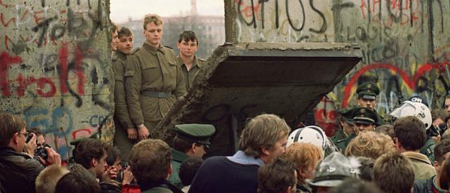 Destruction du mur de Berlin