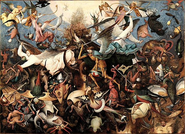 De val der opstandige engelen / The Fall of the Rebel Angels