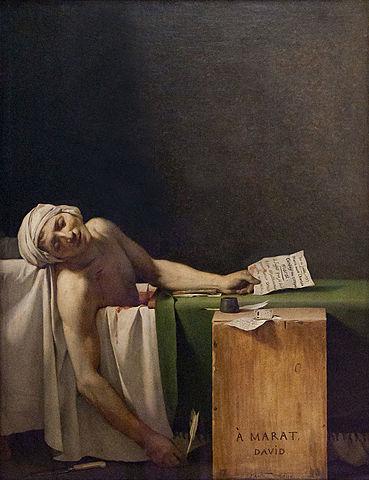 De dood van Marat