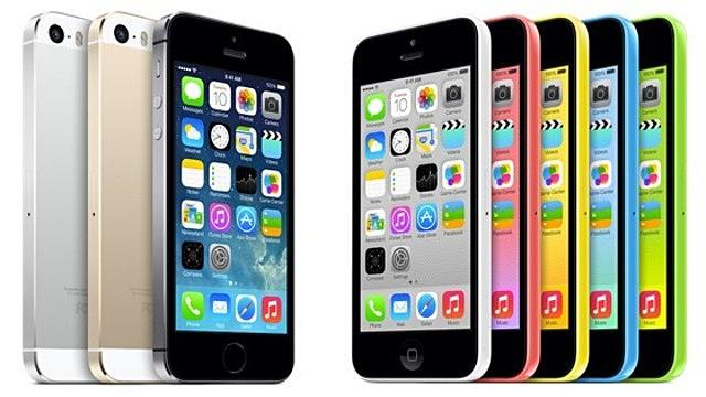 iPhone 5S y iPhone 5C llegan a México