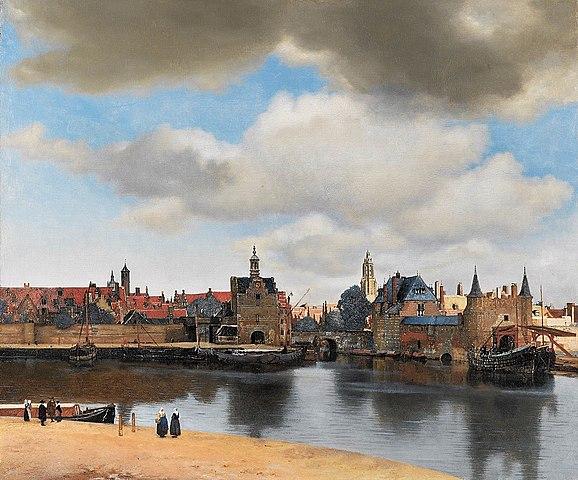 Gezicht op Delft