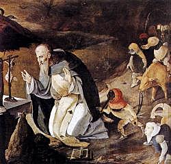 De verzoeking van de Heilige Anthonius