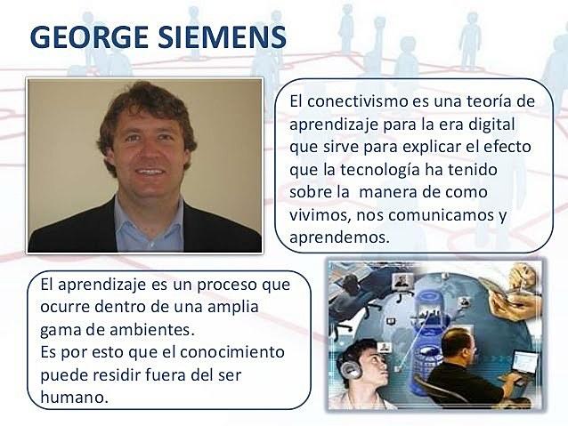 George Siemens: El Conectivismo